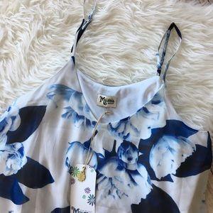 Show Me Your Mumu Floral Mini Dress NWT